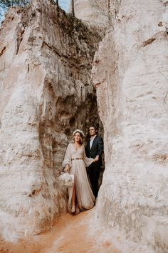 #providencecanyon #providencecanyonstatepark #georgiaelopement #georgiawedding #georgiaintiamtewedding #canyonelopement #southernelopement #elopegeorgia #sunsetelopement #adventerouselopement #sparklyweddingdress #canyonwedding Providence Canyon, Georgia Wedding, State Parks, Sunset, World, Sunsets, The World, The Sunset, National Parks