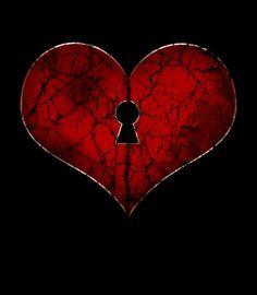 Key hole heart