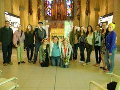In the Heritage Centre of the Sisters of Notre Dame de Namur in Namur, Belgium.