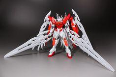 Review: HGBF 1/144 Wing Gundam Zero Honoo + Custom Sword Kit by Hobbynotoriko - Gundam Kits Collection News and Reviews
