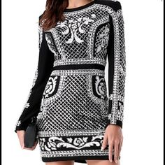 ISO this dress!! Looking for size xs or s! If you have it Please let me know!! bebe Dresses Mini