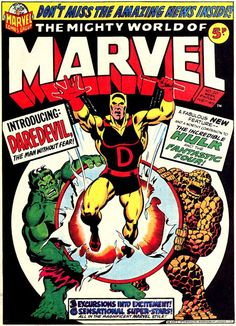 CRIVENS! COMICS & STUFF: KID'S KLASSIC KOMIC KOVERS - THE MIGHTY WORLD OF MARVEL #20..