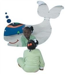 The Sea Me Whale Shatter Resistant Mirror, added to any room will bring joy and brightness. Kids will be able to be made self aware of their appearance while having the smiling whale glancing towards them. #shatterresistant #sensoryedge http://www.sensoryedge.com/sea-me-whale-shatter-resistant-mirror.html