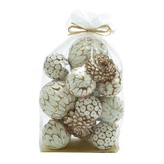 Found it at Wayfair - Mesmerizing Decorative Dried Sola Ball Bag Sculpture Decorative Objects, Decorative Accessories, Decorative Pillows, Home Accessories, Decorative Plates, Beach House Furniture, Coastal Furniture, Home Decor Furniture, Rustic Sculptures