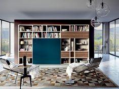 Charmant Die Moderne Wohnwand Ist Praktisch Und Bietet Viel Stauraum An