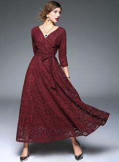 algodo polister reto manga 34 longo vintage vestidos de