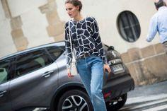 Street Style from Paris Fashion Week Spring 2014 - Paris Fashion Week Spring 2014 Street Style, Day 6