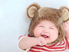 little bear's got the giggles!