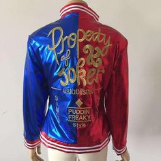 Harley Quinn's High Quality Embroidered Jacket From the NEW Movie Suicide…