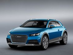 Zapowiedź terenowego Audi TT Allroad