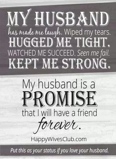 Husband. So true  Eddie is an man and I'm so very lucky to have the best man ever.