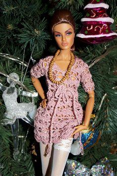bluson en ganchillo barbie