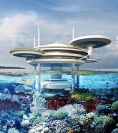 La construction d'un établissement haut de gamme et semi-immergé va bientôt débuter aux Maldives