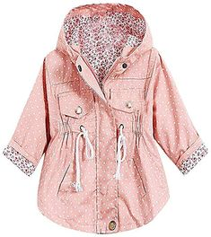 These jackets are absolutely adorable! Sizes Available: Toddler, Kid Material: Cotton, Polyester Baby Outfits, Outfits Niños, Toddler Outfits, Kids Outfits, Little Girl Fashion, Toddler Fashion, Kids Fashion, Fashion Niños, Womens Fashion