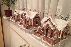 Gingerbread houses, Christmas❤️