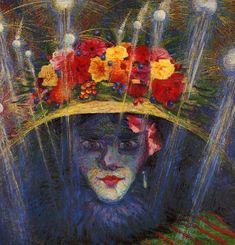 ". Boccioni Umberto "" Idolo moderno "" 1911"