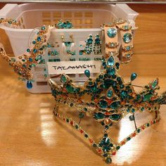 English National Ballet - Headpieces and jewelry for Le Corsaire