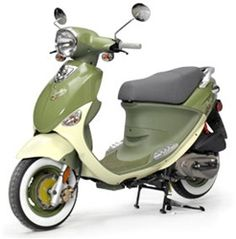 I so love this!!!  My favorite color!   Buddy International 50cc Genuine Scooter by Flat Squirrel Scooters
