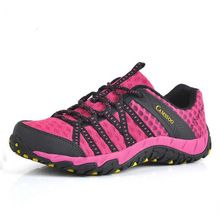 CAMSSOO New Brand Men Women Outdoor Aqua Shoes Mesh Fabric Hiking Shoes Breathable Non Slip Damping Water Sport Shoes Size…