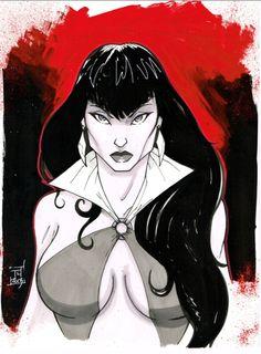 Vampirella - Tom Hodges