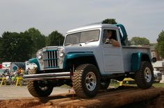 Willys Pickup Truck | Flickr - Photo Sharing! Pickup Trucks, Jeep Pickup, Jeep Truck, Old Trucks, Willys Wagon, Jeep Willys, Willis Pickup, Jeep Concept, Cj Jeep