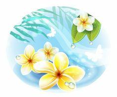 beautiful flowers 01 vector