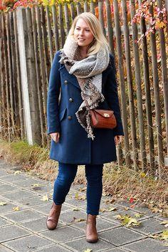 dark blue Military Coat | Fashion Kitchen