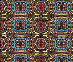 landscape_II_arcs fabric by kcs on Spoonflower - custom fabric