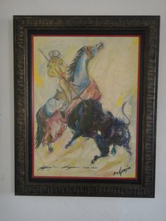 Rare Limited Edition Ted Degrazia Signed Picador Los Angeles by housecandyla, $299.00