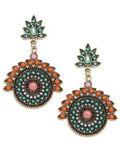 kala disk drop earrings @ baublebar