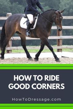 When riding a dressage test, many riders make the experience even more challenging by not riding their corners correctly and maximising arena space. Horse Riding Tips, Horse Tips, Trail Riding, Horse Information, Horse Exercises, Horse Training, Training Tips, Training Exercises, Dressage Horses