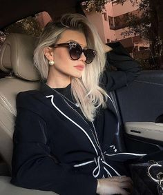 Women Sunglasses Order Prescription Sunglasses Online Oval Frame Glasses Eyeglasses For Women Mode Outfits, Girl Outfits, Fashion Outfits, Womens Fashion, Moda Fashion, Fashion Fashion, Poses, Prescription Sunglasses Online, Looks Chic