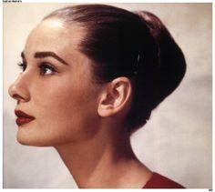 Audrey profile.