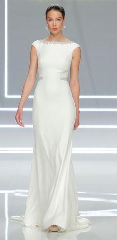 Rosa Clará's Modern and Minimalist Wedding Dresses for 2017     TheKnot.com