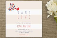 Petit Oiseau Baby Shower Invitations by Cecile Pap... | Minted