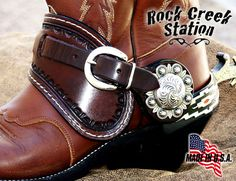 Rock Creek Station Custom Spur Straps