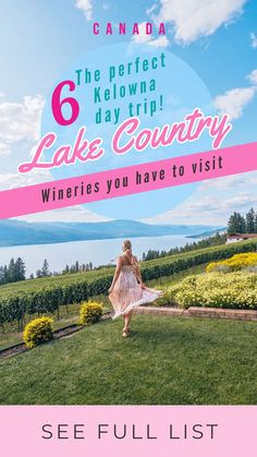 Wineries of Lake Country – The Perfect Kelowna Day Trip! At only a 20 minute drive away from Kelowna, Lake Country is a perfect and stress free day trip with stunning wineries to visit. This post features 6 Lake Country wineries you have to visit while yo Canada Travel, Travel Usa, Travel Local, Beach Trip, Beach Travel, Travel Guides, Travel Tips, Amazing Destinations, Quebec
