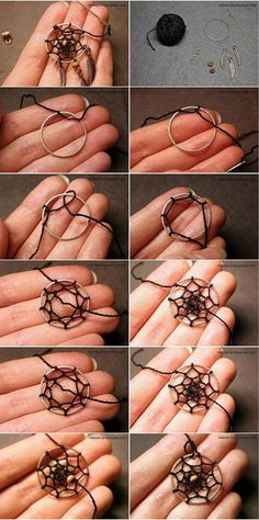 how to weave a dream catcher