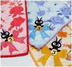 Kiki's kleiner Lieferservice Mini-Handtuch Rosen - mrbento.de