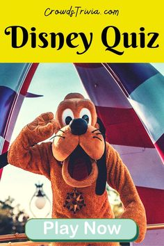 Disney Quiz! Play our Disney trivia quiz now. Can you ace it? Disney Trivia Quiz Games Play the magical Disney games and try to beat the clock. What's your favorite Disney character been so far?… Walt Disney Facts, Disney Quiz, Disney Games, Disney Songs, Group Games For Teenagers, Quizzes For Kids, Quizzes Games, Trivia Games, Funny Quiz Questions