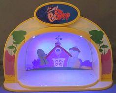 LITTLEST PET SHOP Light Up Stage Farm LPS 2007 Hasbro #Hasbro