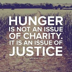Justice and Hunger