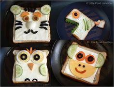 Kids food - musste dabei an @FrauBHK Püppi denken, die das wahrscheinlich nicht essen würde (wie die Schweinchenkekse ;))