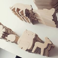 "45 Likes, 3 Comments - @mielasiela on Instagram: ""waiting #woodenanimals #woodentoys #mielasiela #handmade #simpleandbeautiful #simpledesign…"""
