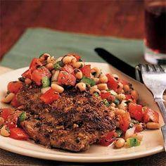 Fennel-Crusted Pork Tenderloin from MyRecipes.com #myplate #protein