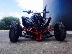 Yamaha Atv, Ducati, Badass Jeep, Custom Sport Bikes, Fifth Wheel Trailers, Drift Trike, Quad Bike, 4 Wheelers, Buggy