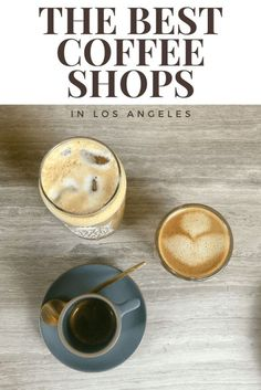A look at the best coffee shops in Los Angeles and what to order when you're there! From artisinal coffees to incredible pastries, it's just a cup away! Best Coffee Shop, Coffee Shops, Coffee Coffee, California Food, California Travel, Pastry Recipes, Best Places To Eat, Coffee Recipes, Foodie Travel