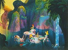 Mary Blair - Peter Pan concept art