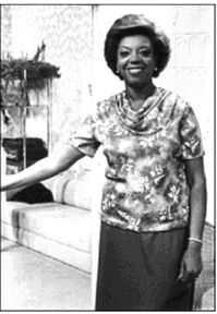 """Carmen Belén Richardson, Puerto Rican actress & comedienne. Richardson became the first black Puerto Rican comedienne in Puerto Rico's television industry. She has also acted in several telenovelas including the Mexican soap opera, """"Guadalupe."""""""
