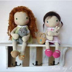 Inspiration - amigurumi dolls